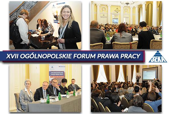 XVII Ogólnopolskie Forum Prawa Pracy – relacja