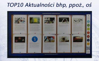 TOP10 Aktualności bhp, ppoż., oś. – styczeń 2017