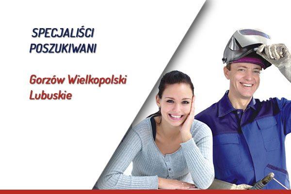 Specjaliści poszukiwani w Gorzowie Wlkp.