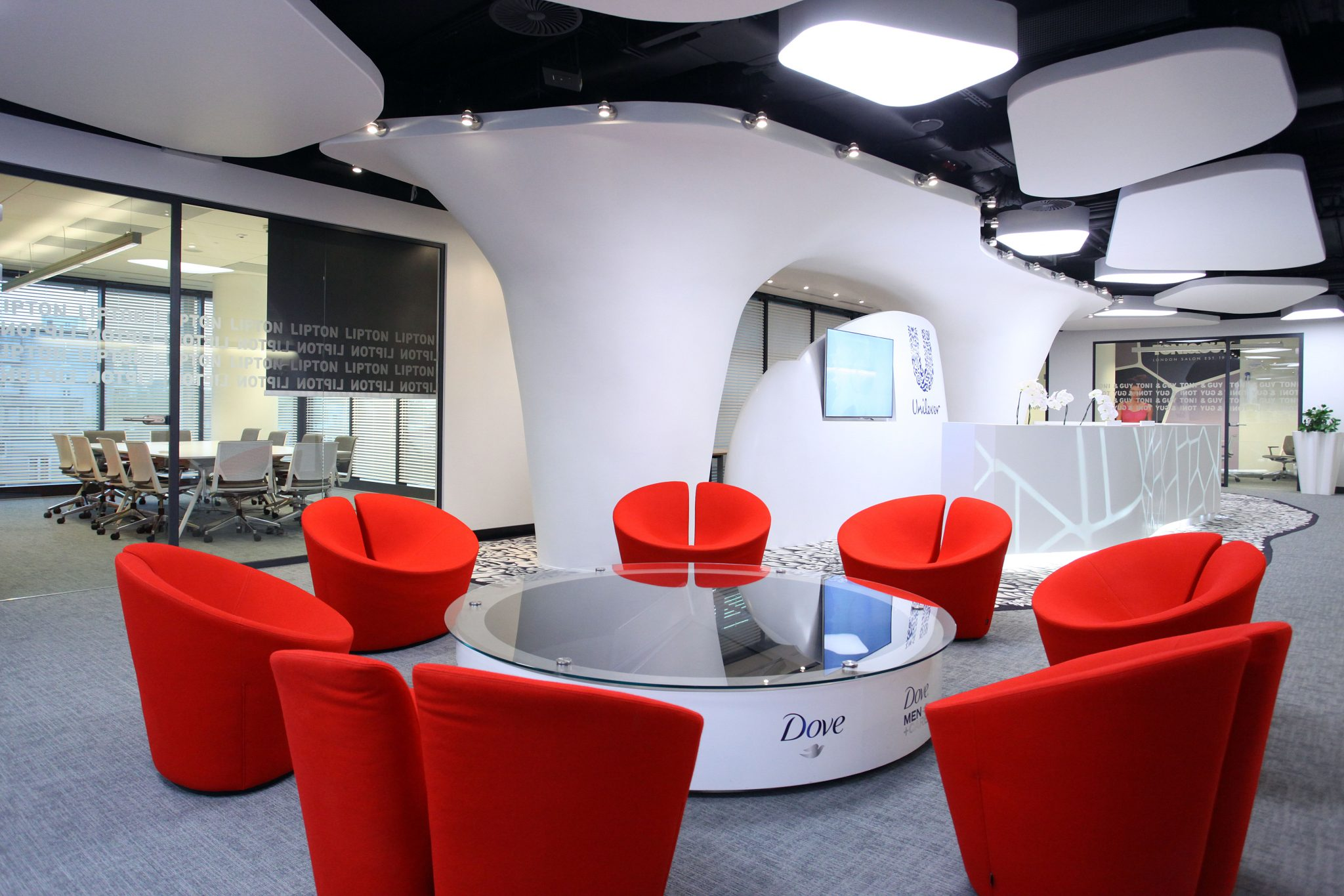 Unilever recepcja_biuro_glowne wywiad dla SEKA SA bhp
