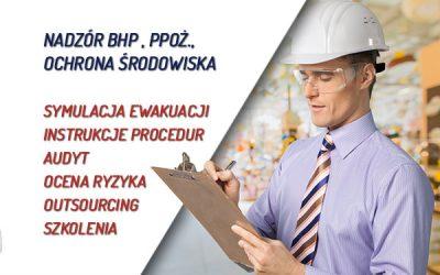 Nadzór i szkolenia bhp, ppoż. i ochrony środowiska