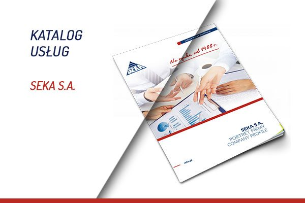 Katalog usług SEKA S.A.