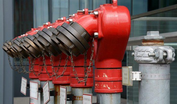 Pomiary parametrów hydraulicznych sieci hydrantowych przeciwpożarowych