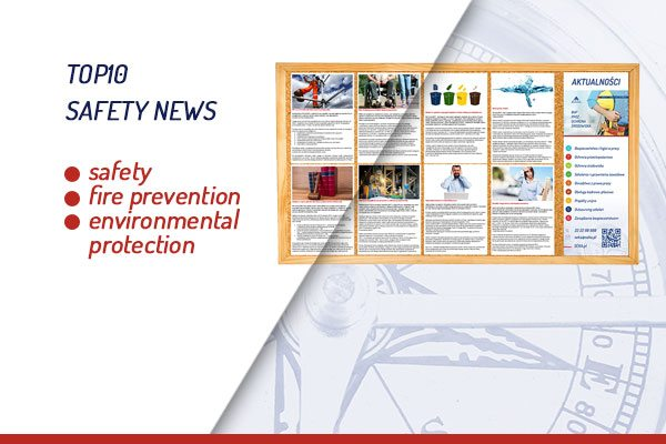 TOP10 safety news – registration