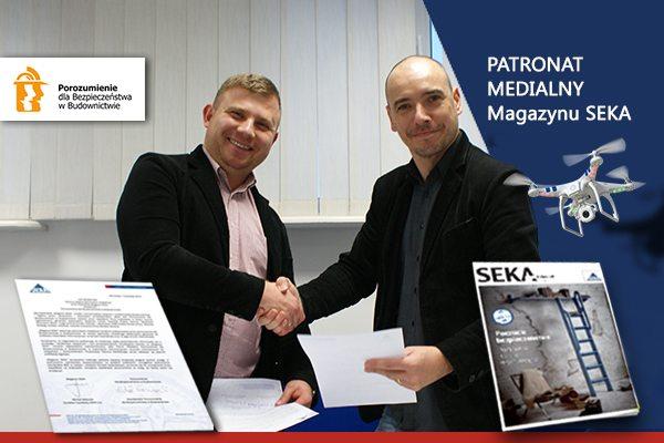Porozumienie dla bezpieczeństwa w budownictwie patronat medialny