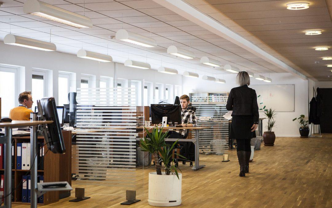 Ogólne zasady bhp dotyczące pomieszczeń i stanowisk pracy biurowej