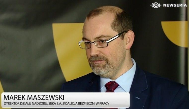 """Marek Maszewski: """"Bezpieczeństwo jest tym, w co warto inwestować"""""""