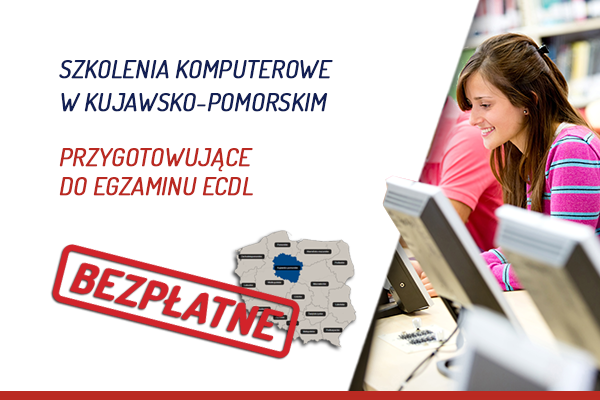 Bezpłatne szkolenia komputerowe przygotowujące do egzaminu ECDL