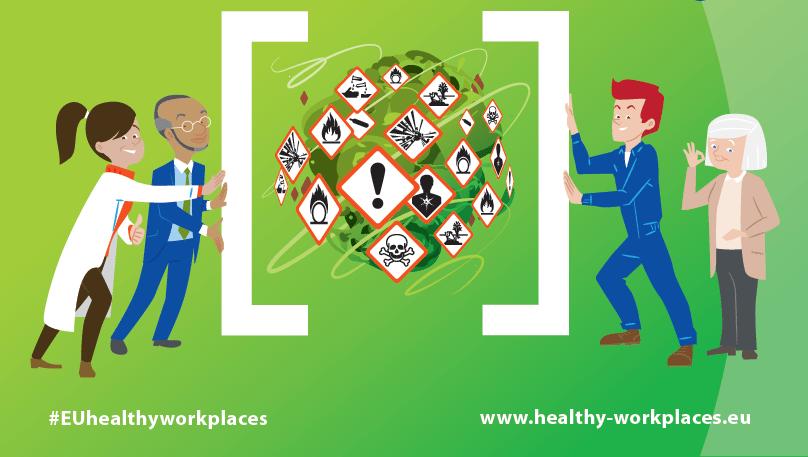 Zdrowe i bezpieczne miejsce pracy: substancje niebezpieczne pod kontrolą