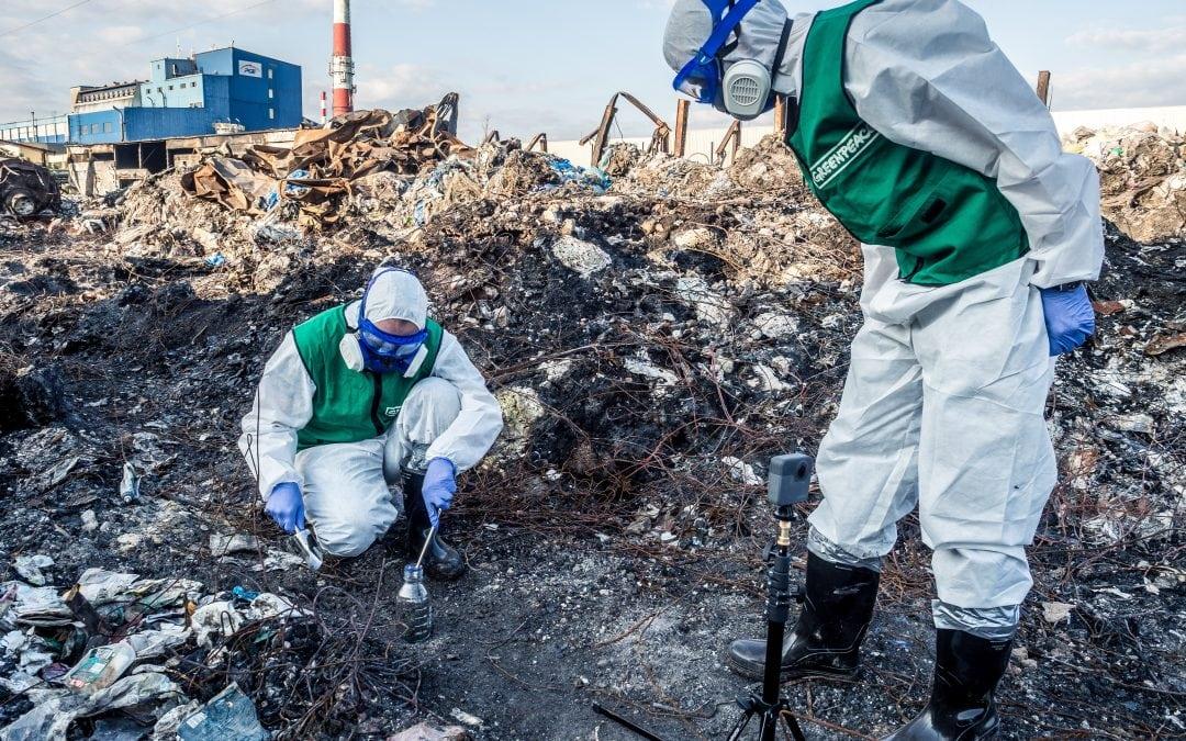 Pożary odpadów skaziły glebę groźnymi substancjami