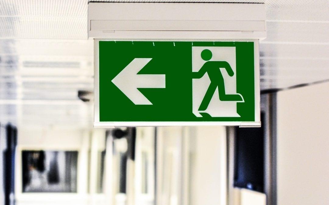 PPOŻ – zasady ewakuacji z budynków