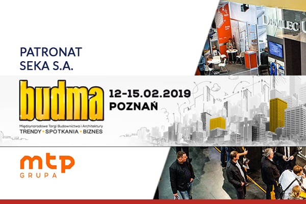 Międzynarodowe Targi Budownictwa i Architektury BUDMA 2019