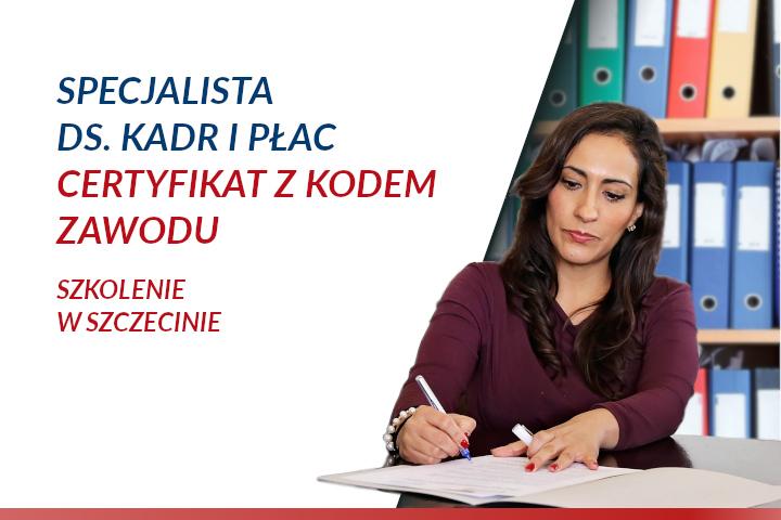 Kadry i płace – szkolenie w Szczecinie