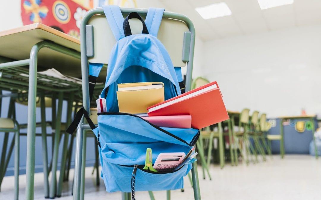 Zalecenia MEN w sprawie tornistrów szkolnych