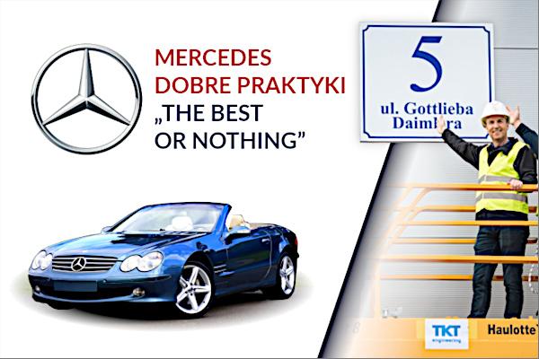 Mercedes – dobre praktyki