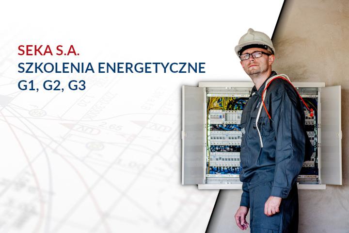 Uprawnienia energetyczne – G1, G2, G3
