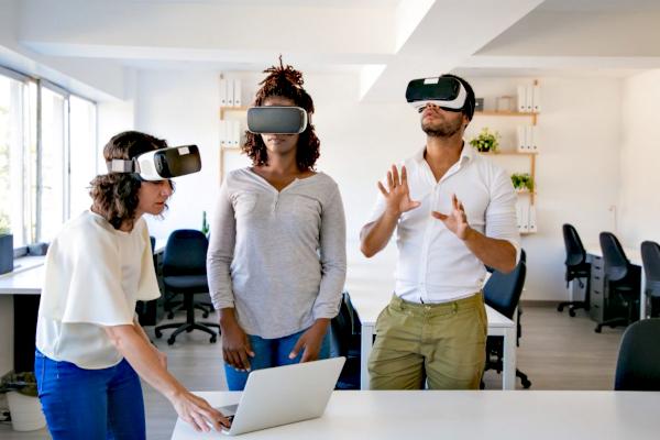 Wirtualna rzeczywistość w BHP