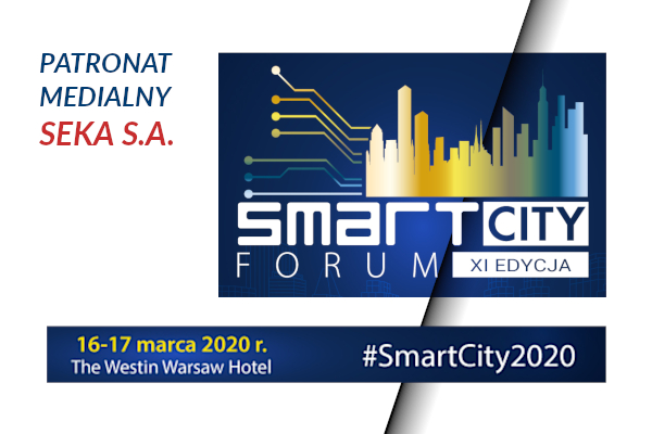 Smart City Forum – patronat medialny SEKA S.A.