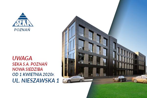 Nowa siedziba oddziału SEKA S.A. w Poznaniu
