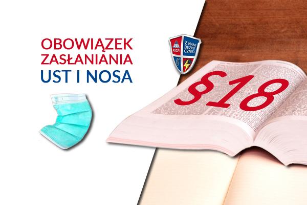 Obowiązek zasłaniania ust i nosa od 16 kwietnia 2020