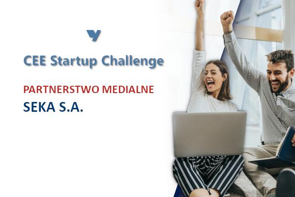 CEE Startup Challenge  – partnerstwo medialne z SEKA S.A.