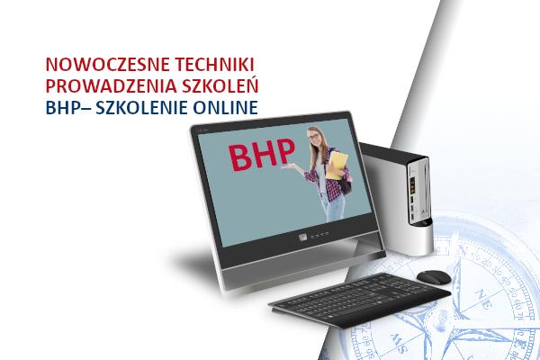 Nowoczesne techniki prowadzenia szkoleń BHP – szkolenie online