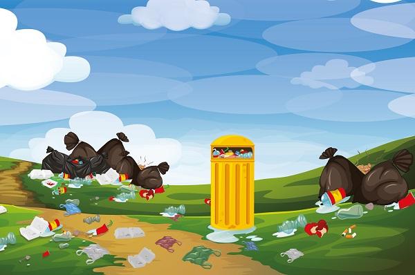Zaostrzenie kar za porzucanie śmieci