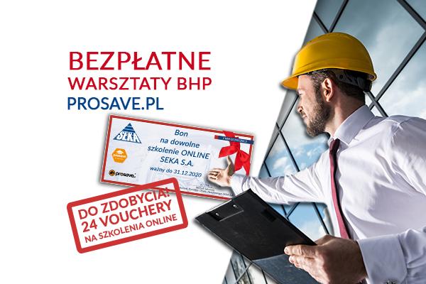 Bezpłatne warsztaty bhp z nagrodami