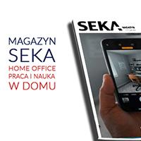 Magazyn SEKA home office praca i nauka w domu