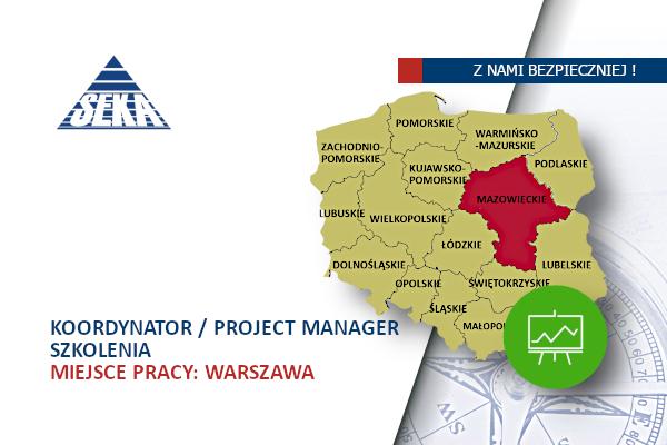 Koordynator / Project Manager – Szkolenia