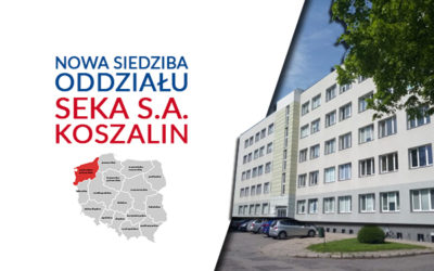 nowa siedziba seka s.a. Koszalin