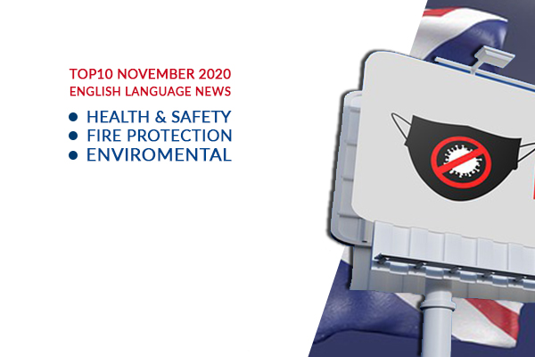Top10 NEWS on health and safety fire and environmental protection November 2020