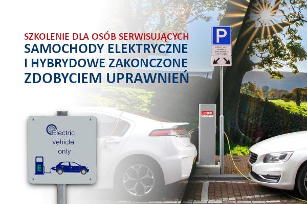 Serwisowanie samochodów elektrycznych i hybrydowych