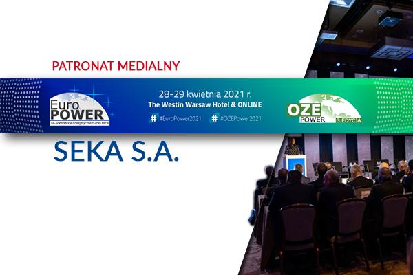 Konferencje EuroPOWER i OZE POWER – patronat SEKA S.A.