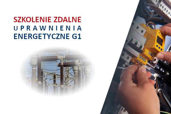 Szkolenie on-line eksploatacja i dozór urządzeń elektroenergetycznych – G1