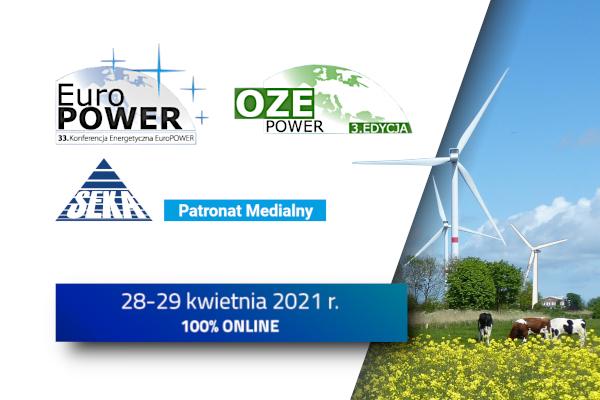 EuroPower i OZEPower już 28-29 kwietnia 2021 r.
