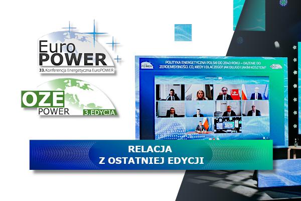 EuroPower i OZEPower 28-29 kwietnia 2021 r. – relacja