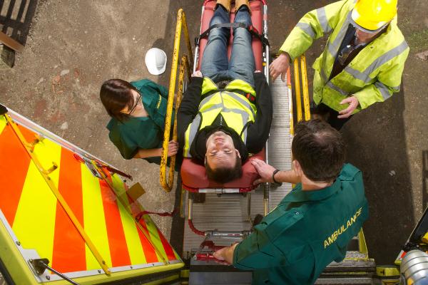 Zasady postępowania podczas wypadku przy pracy