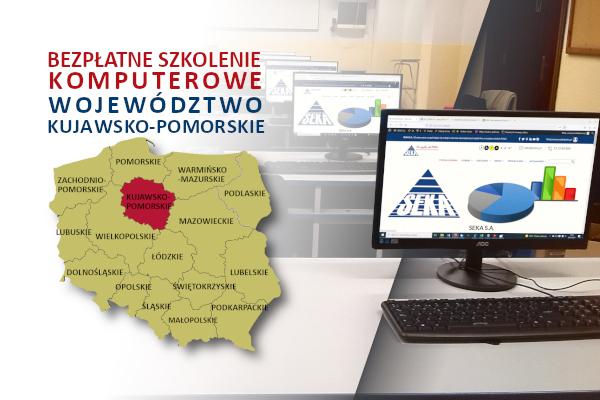 Bezpłatne Szkolenie Komputerowe Województwo Kujawsko-Pomorskie