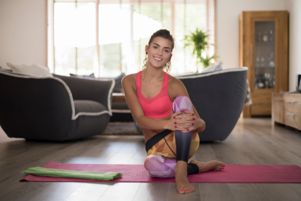 Aktywność fizyczna podczas pracy w domu