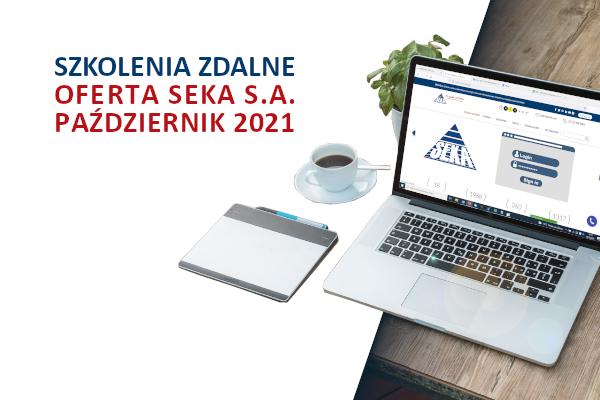 SZKOLENIA ZDALNE OFERTA PAŹDZIERNIK 2021