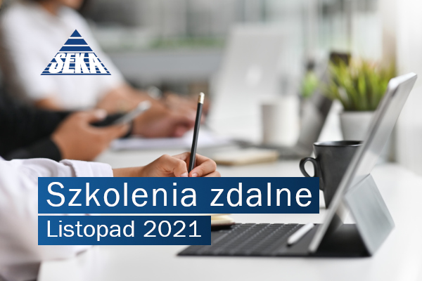SZKOLENIA ZDALNE OFERTA LISTOPAD 2021
